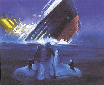La nave se hunde...