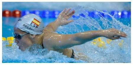 Promesa de la natación española